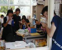 生徒会室も大忙し!